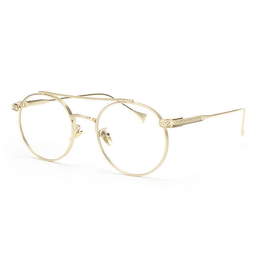 Unisex Vintage Round Spectacles Glasses