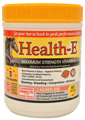 Health-E Maximum Strength Vitamin E Supplement