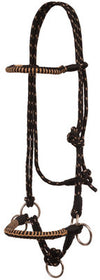 Side Pull Halter with Braided Nose