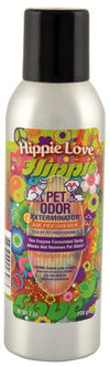 Pet Odor Exterminator Spray, Hippie Love, 7oz