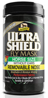 UltraShield Fly Mask without Ears, Removable Nose