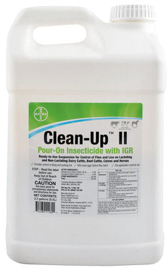 Clean-Up II Pour-On Insecticide with IGR