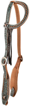 Vintage Cowgirl Sliding Ear Headstall
