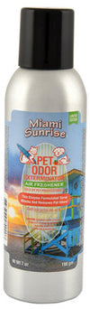 Pet Odor Exterminator Spray, Miami Sunrise