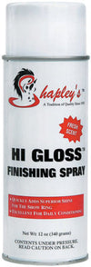 Shapley's Hi Gloss Finishing Spray, 12 oz