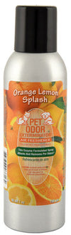 Pet Odor Exterminator Spray, Orange Lemon Splash, 7oz
