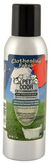 Pet Odor Exterminator Spray, Clothesline Fresh, 7oz