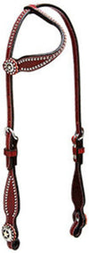 Texas Star One Ear Headstall, Chestnut