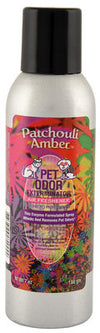 Pet Odor Exterminator Spray, Patchouli Amber