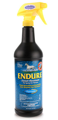 Endure Sweat-Resistant Fly Control