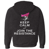 Keep Calm and Join the Resistance (w/ Francis Junior Jr.) Hoodies (Zip-up)