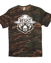 "RESIST Bear ""Only YOU Can Prevent Fascism"" Double-sided T-Shirt"