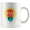 Denial is not a Policy (Climate Change Mug) - White
