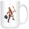 The (So-Called) President Has No Clothes (15oz Mug)
