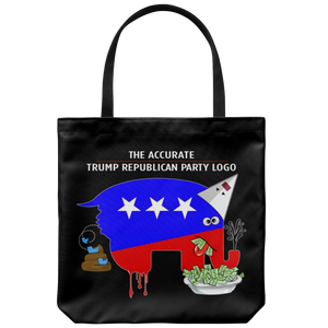 The Accurate Trump Republican Party Logo (Tote Bag)