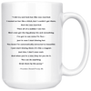 "Trump ""Grab them by the p*ssy"" Quote (15oz Mug)"