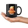 Trump Baby Balloon (Black Mug)