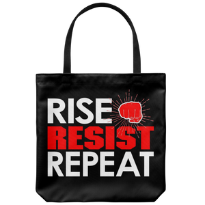 RISE - RESIST - REPEAT (Tote Bag)