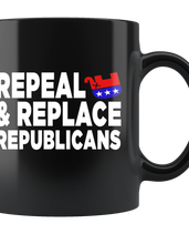 Repeal and Replace Republicans (Black Mug)