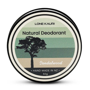 3 Month Subscription - Sandalwood Natural Deodorant - Lone Kauri