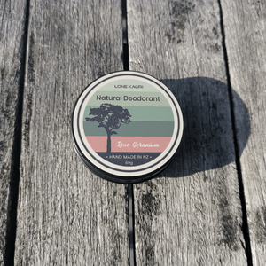 Aluminum free Natural Deodorants