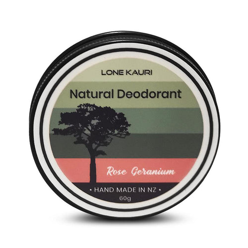 Natural Deodorant - Rose Geranium