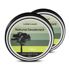 Load image into Gallery viewer, Natural Deodorant Tins