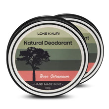 Load image into Gallery viewer, Natural Deodorant - Double Pack - Lone Kauri