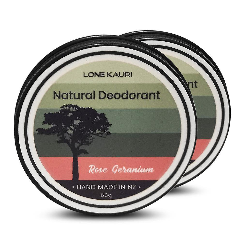 Natural Deodorant - Double Pack - Lone Kauri