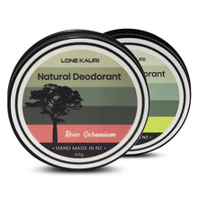 Load image into Gallery viewer, Mixed family pack natural deodorant