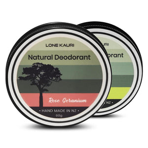 Mixed family pack natural deodorant