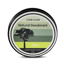 Load image into Gallery viewer, Natural Deodorant - Citrus