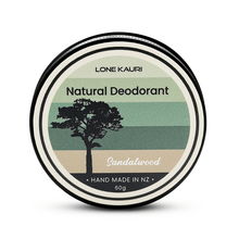 Load image into Gallery viewer, Homemade natural deodorant