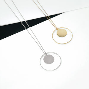 LONG DISTANCE NECKLACE