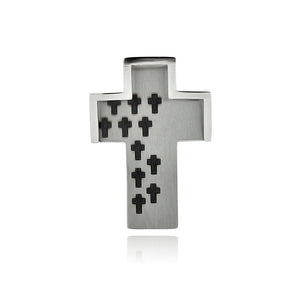 Stainless Steel Multi Cross Charm Pendant