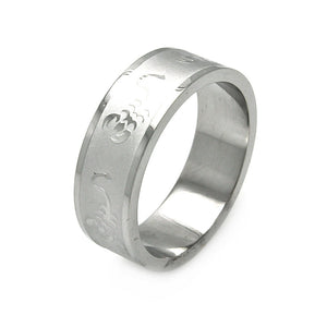 Men's Stainless Steel Scorpion Design Ring