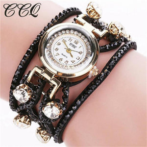 Luxury Women's Watch 2017 Leather Bracelet Watch Women