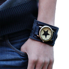 Load image into Gallery viewer, Punk Style  watches mens watches PU Leather Wristwatches For Men orologio uomo