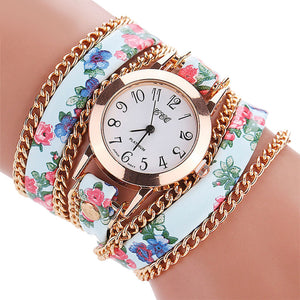Fashion 2017 CCQ Top Luxury Brand Women Quartz Watch Casual reloj mujer Analog  Wave Bracelet