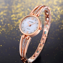 Load image into Gallery viewer, O.T.Sea Luxury Fashion Watches Women Small Dial Stainless Steel Quartz Women
