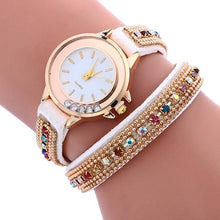 Load image into Gallery viewer, Genvivia Quartz Watch Women Luxury simple Bracelet relogio de pulso feminino Leather