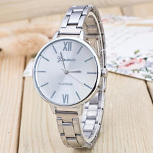 Load image into Gallery viewer, Ladies Watches Sliver Gold Watch Women Luxury Dress Women's Fashion Stainless