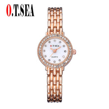 Load image into Gallery viewer, O.T.Sea 2017 Watches Women Brand Luxury Stainless Steel Quartz Watch Women #17