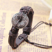 Load image into Gallery viewer, SUSENSTONE Retro Girl Boy Style Bracelet Bangle Charm Cuff Jewelry bracelets for women