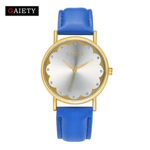 Lady Watches Women Luxury Leather Dress Wrist watch Relogio Feminino Montre