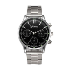 Load image into Gallery viewer, Stainless Steel Quartz-watch Wrist Watches For Men Male Clocks Watches