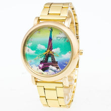 Load image into Gallery viewer, 2017 Luxury Fashion Watches Women Gold Women Stainless Steel Quartz Wrist Watch relogio feminino