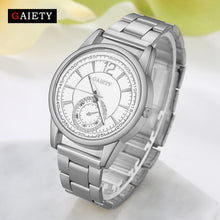 Load image into Gallery viewer, GAIETY Quartz-watch Women watches Luxury Stainless Steel Watches Women Clock