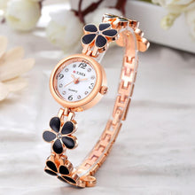 Load image into Gallery viewer, 2017 O.T.Sea Watches Women Luxury Flower Quartz Watch Women Stainless Steel  #504