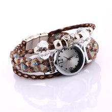 Load image into Gallery viewer, Women Bracelet Luxury Wrist Watch For Women 2017 Crystal Dress